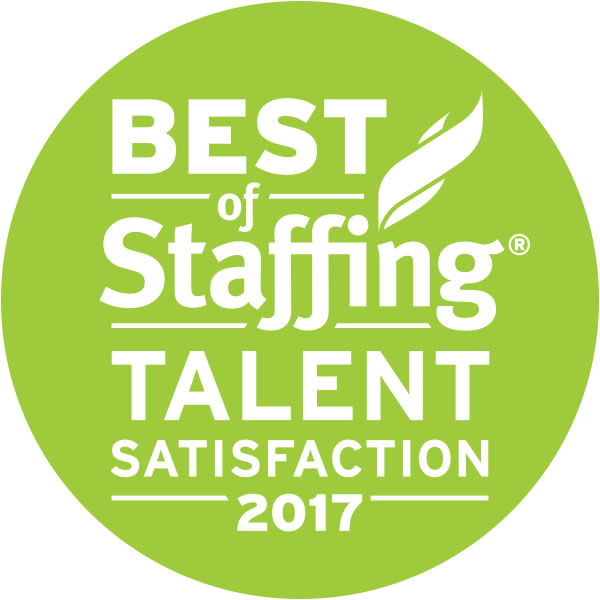 Best of Staffing Talent Satisfaction Award