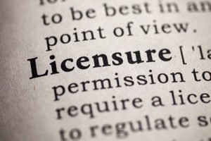 Licensure by state