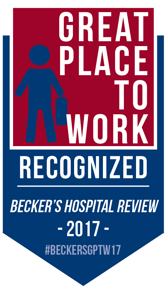 Beckers Hospital Award Badge