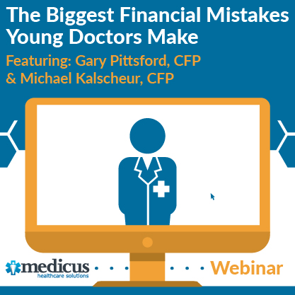 The biggest Financial Mistakes Young Doctors Make webinar graphic