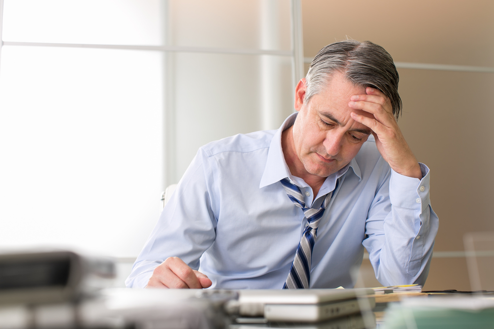 Healthcare leader suffering holiday burnout
