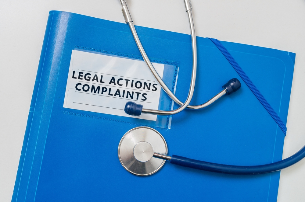 Legal actions complaints folder
