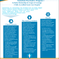 Case Study – Transition Psychiatric Program, Acute Care Hospital