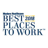 Modern Healthcare Best Places to Work 2018 Award