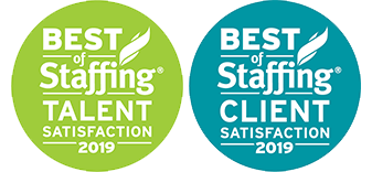 Best of Staffing Talent and Client awards