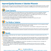 Case Study – Improved Quality Outcomes in Suburban Wisconsin