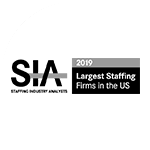 SIA Largest Staffing Firms in the US 2019 logo