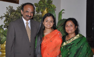 Dr. Indira Thirkannad, MD and family