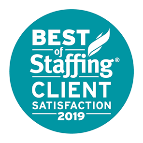 SIA Best of Staffing Client Award 2019